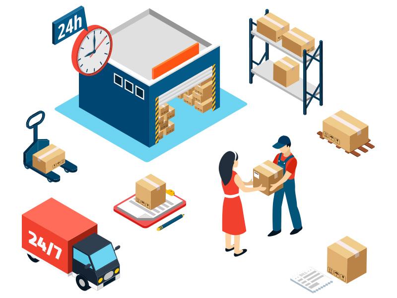 servicios de envío y logistica